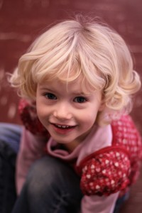 picture of child at preschool
